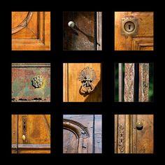 Vieilles portes à Le Vigan