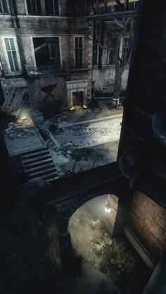 Dishonored. City.