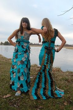 duct tape dresses ?