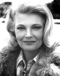 Gena Rowlands The inspiration for Eileen McCormick. Yeah, she doesn't look anything like her sons but they have her grit.