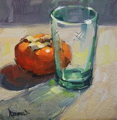 """Daily Paintworks - """"Through Glass"""" - Original Fine Art for Sale - © Cathleen Rehfeld"""