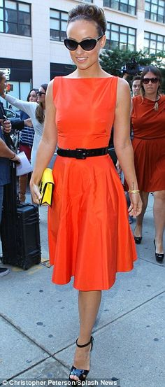 Olivia Wilde... love this style