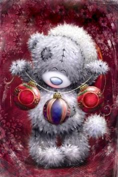 ♥ Tatty Teddy ♥ More Christmas Scenes, Christmas Pictures, Christmas Art, Vintage Christmas, Xmas, Tatty Teddy, Illustration Noel, Christmas Illustration, Christmas Clipart