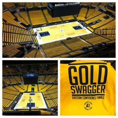 Gold out at Banker's Life Fieldhouse for Game 4 Eastern Conference Finals Westbrook Nba, Russell Westbrook, Nba Arenas, Rose Nba, Bankers Life Fieldhouse, Eastern Conference Finals, The Pacer, Andrew Luck