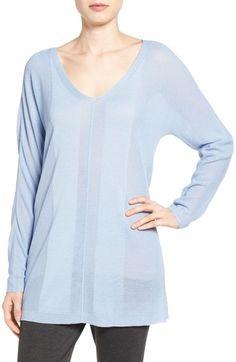 Halogen® Oversize V-Neck Sweater available at #Nordstrom