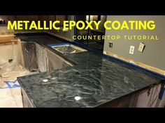 HOW TO APPLY EPOXY RESIN ON TABLE TOPS COUNTER TOPS BAR TOPS APPLICATION DEMONSTRATION - YouTube