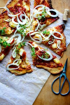 potato pizza #Food #Recipe #Yummy #Meals #Dinner #Chef #Cook #Bake #Culinary
