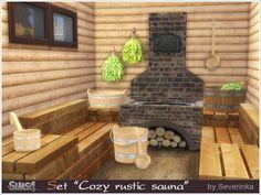 Severinka_'s Cozy rustic sauna