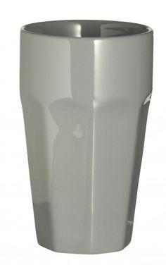 Madam Stoltz Becher Aus Keramik, Light Grey