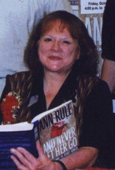 Ann Rule - True Crime Writer, I have read many of her books all are great.