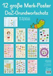 Titelbild 12 große Merk-Poster DaZ-Grundwortschatz