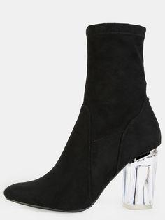 Faux+Suede+Crystal+Heel+Booties+BLACK+43.90