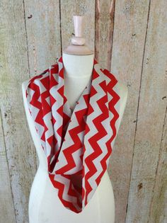 Ohio State-y Chevron scarf...ordered! So excited!!