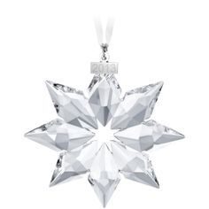 2013 Swarovski Annual Edition Ornament SALE - While supplies last. The 2013 Swarovski Annual edition ornament star will add sparkle to your holiday decor. Swarovski Christmas Ornaments, Swarovski Snowflake, Christmas Ornament Sets, Star Ornament, Snowflake Ornaments, Christmas Decorations, Holiday Decorating, Decorating Ideas, Silver Ornaments