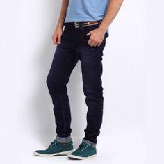 Men Hunt Blue Cool Jeans