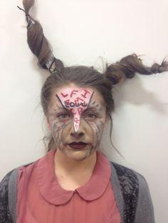 Animal Farm - Donkey Makeup with Base - MUA Brandon Barns - Model Frances Luck