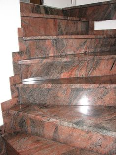 Granite Stairs, Marble Stairs, Home Stairs Design, House Design, Wardrobe Room, Stair Case, Modern Stairs, Staircase Ideas, House Stairs