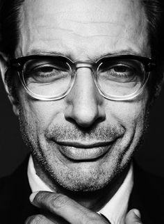 Cool actors Jeff Goldblum by Max Abadian photography