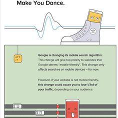 Is Your Site Mobile-Ready for Google's Big Algorithm Change? #Mobilefriendly #infographic #Website #Mobile #Google #Algorithm #SEO #marketing #online #business #onlinemarketing #ITsolutions #Mobileapp #softwaredevelopment #internetmarketing #searchengine #webdevelopment #webdesign http://bit.ly/2mYDcA3
