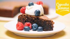 Gluten-Free Flourless Chocolate Cake   Cupcake Jemma