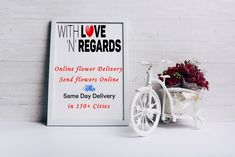 Send online flowers, cakes and gifts to anywhere in India in cities for sameday delivery and Midnight delivery in selected cities. Online Flower Delivery, Flower Delivery Service, Same Day Flower Delivery, Send Flowers Online, Bouquet Delivery, Online Florist, Heart Melting, Reasons To Smile, Feeling Loved