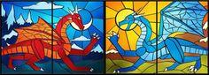 #stainedglassdragon - DeviantArt