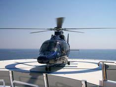Yacht helicopter landing deck http://www.ajmyachtsales.com/# - AJ MacDonald - Yacht Broker - ajmacdonald@camperandnicholsons.com