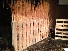 Tony Reid from Christ Community Church in Montgomery, AL brings us this great stage design for a series on Ruth. Bühnen Design, Design Ideas, Floral Design, Church Stage Design, Christmas Stage Design, Stage Props, Christmas Program, Stage Decorations, Stage Set