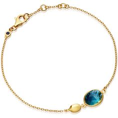 Astley Clarke Gold-Plated Topaz Oval Stilla Bracelet (9,355 PHP) ❤ liked on Polyvore featuring jewelry, bracelets, topaz pendant, gold plated jewelry, star jewelry, blue topaz pendant and oval bangle