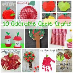 These apple crafts a
