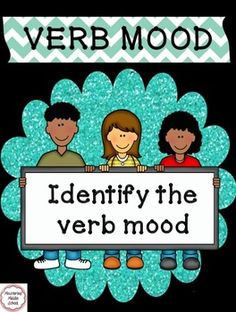 Help your students reach mastery with this worksheet on the different verb moods:  indicative, imperative, interrogative, conditional, and subjunctive.    Verb mood is a new concept at the 8th grade level under the Common Core standards.  This worksheet begins with a review of the different types and includes an answer key.