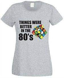 """""""Things Were Better in the 80's"""" T-shirt for Women"""