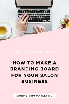 Learn how to make a beautiful mood board for your salon brand in Canva. Create a strong and consistent visual identity with a mood board! Marketing Articles, Marketing Ideas, Media Marketing, Salon Business, Business Ideas, Salon Promotions, Home Beauty Salon, Salon Quotes, Salon Ideas
