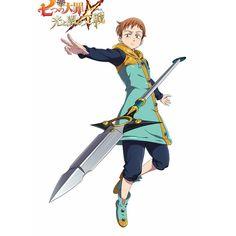 King in new RPG game Nanatsu no Taizai Hikari to Yami no Grand Cross Seven Deadly Sins Anime, 7 Deadly Sins, Otaku Anime, Anime Naruto, 7 Sins, Grand Cross, Seven Deady Sins, Cross Art, Naruto Shippuden Sasuke