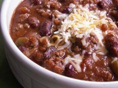 Crockpot Venison Chili, I know this says crock pot but I'm making it in my soup pot tonight!