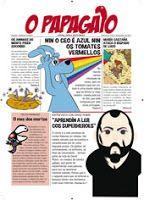 MoitoConto: OLLA O PAPAGAIO Comic Books, Comics, Cover, Parrot, Books, Reading, Comic Strips, Slipcovers, Comic Book