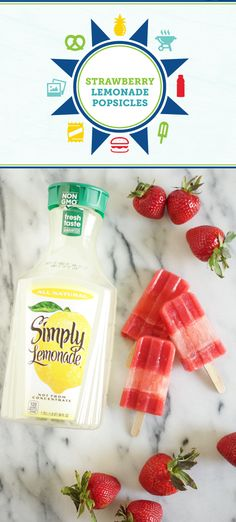 You and your kids love creating delicious treats together, and this recipe for Strawberry Lemonade Pops will be no exception! With Member's Mark fresh strawberries and Simply Lemonade® inside, this sweet and refreshing snack is also great after playing outdoors. Who knew it could be so easy to enjoy fruity fun with your family?! Plus, you can pick up everything you need at  Sam's Club.