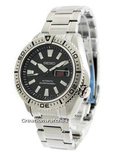 Seiko Automatic Diver's SRP491K1 SRP491K SRP491 Men's Watch