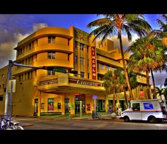 Art Deco in Miami ( the old Lincolin Theater ) { Explored …   Flickr - Photo Sharing!