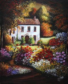 ART~ So Vivid! You Could Be Watching From The Top Of The Hill~ Mariana Flores