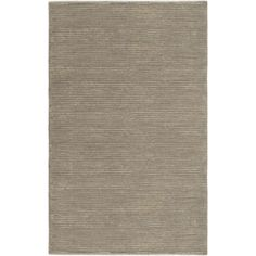 Surya Mugal Striped Gray Hand Knotted Wool Rug @Zinc_Door