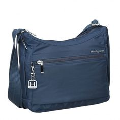 6ce71b8493 Hedgren Inner City Harper s S Shoulder Bag Water Resistant Nylon Dress Blue   fashion  clothing  shoes  accessories  womensbagshandbags ...