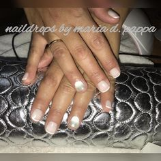 #frenchmanicure #ombrenails #mirrornails