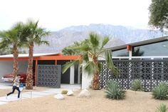 | California Home + Design #palmsprings