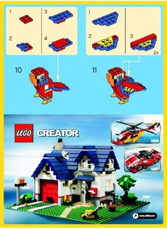 Creator - Parrot [Lego 30021] - Part II