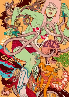 Illustrations by Douglas Bicicleta | Cuded