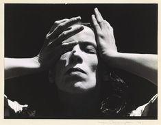 Martha Graham taken by Imogen Cunningham