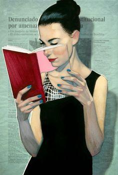 Libro-lectura-lectora (ilustración de Fernando Vicente)
