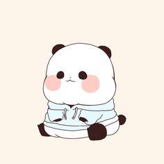 Chibi Panda, Panda Kawaii, Cute Panda Cartoon, Panda Wallpapers, Cute Cartoon Wallpapers, Panda Art, Panda Panda, Panda Drawing, Cute Easy Drawings