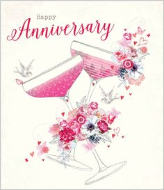 Abacus Cards is a UK based publisher of greeting cards, social stationery and gift wrap. Birthday Wishes For Women, Anniversary Wishes For Parents, Happy Wedding Anniversary Wishes, Anniversary Greeting Cards, Romantic Anniversary, Anniversary Pictures, Marriage Anniversary, Anniversary Funny, Celebration Background